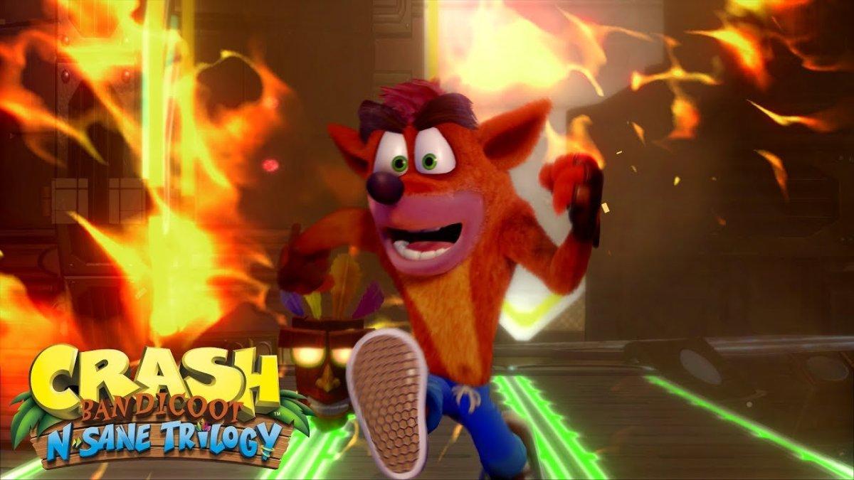 Crash Bandicoot adelanta su fecha desalida