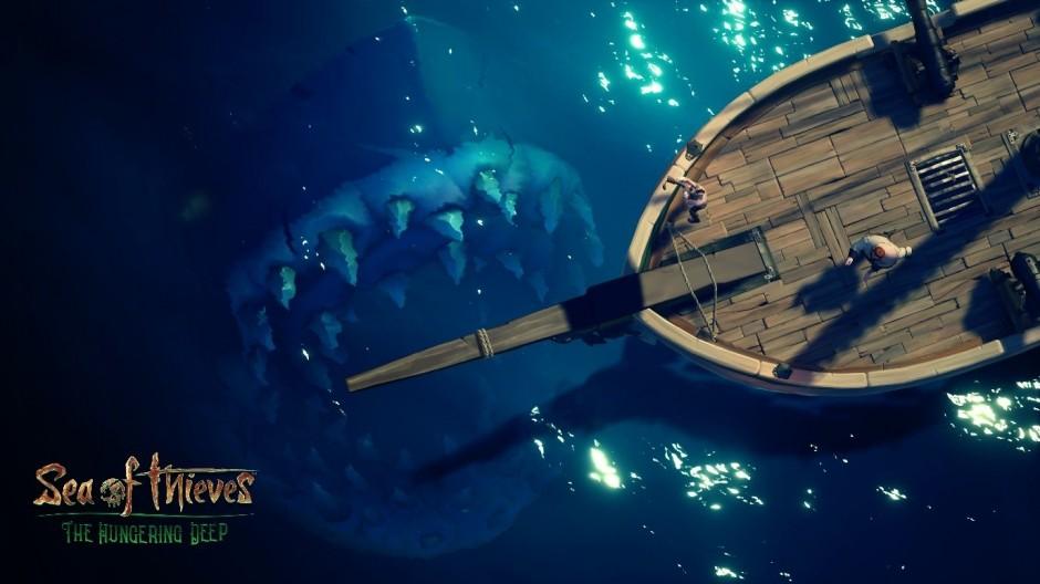 La primera expansión The Hungering Deep llega a Sea ofThieves