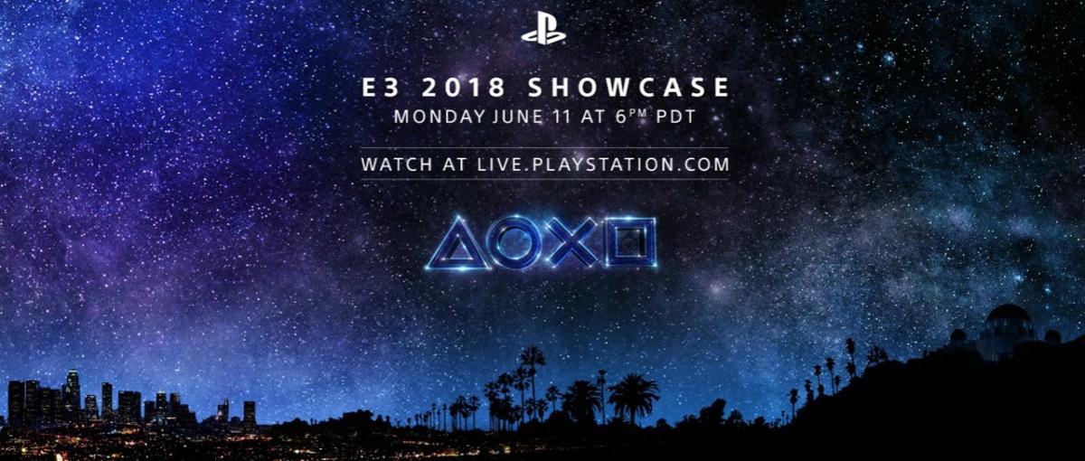 Playstation ya tiene la hora y fecha para su conferencia del E32018