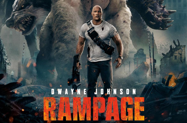 Rampage, la segunda mejor película taquillera basada envideojuegos