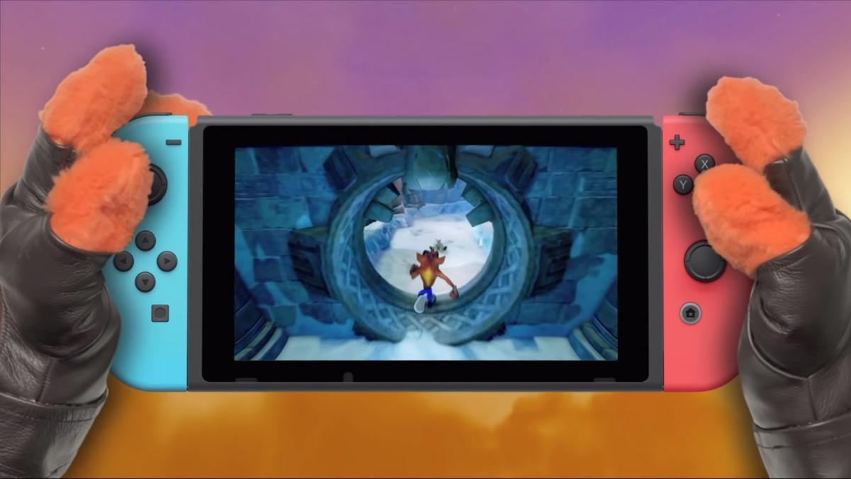 Así es el trailer de Crash Bandicoot para NintendoSwitch