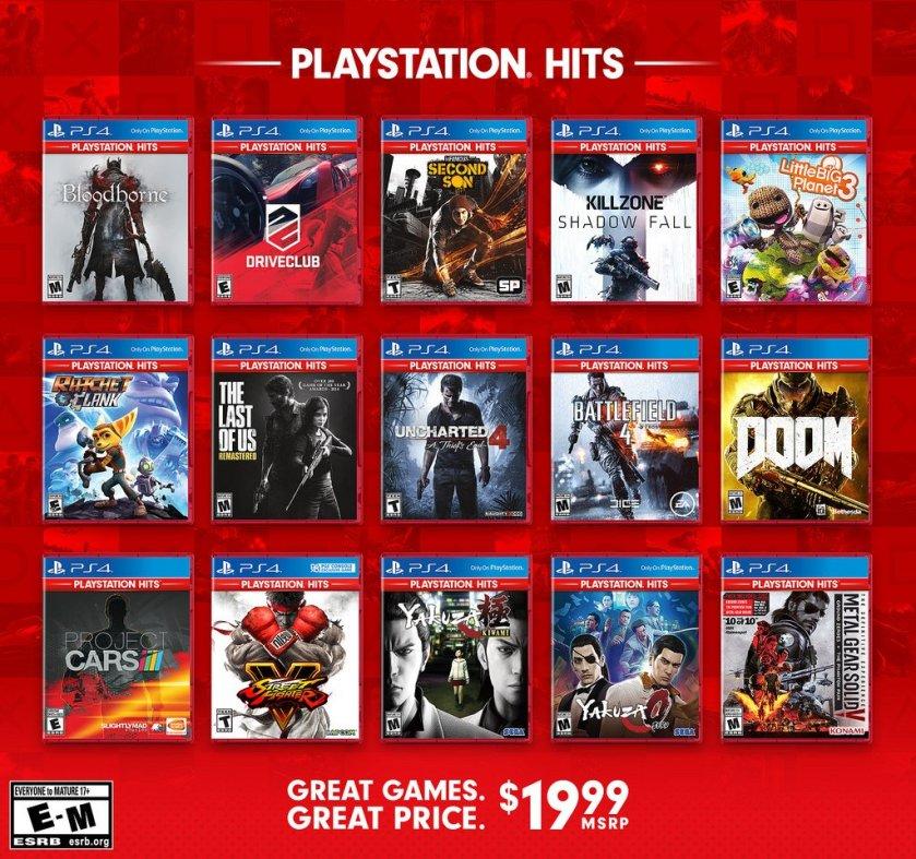 Playstation-Hits-linea-de-juegos