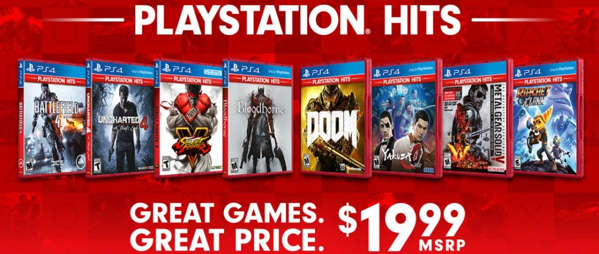 Los Playstation Hits llegan a Playstation4
