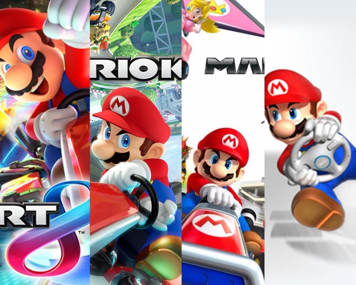 Mario Kart es la saga que mas se ha vendido en las ultimas consolas deNintendo