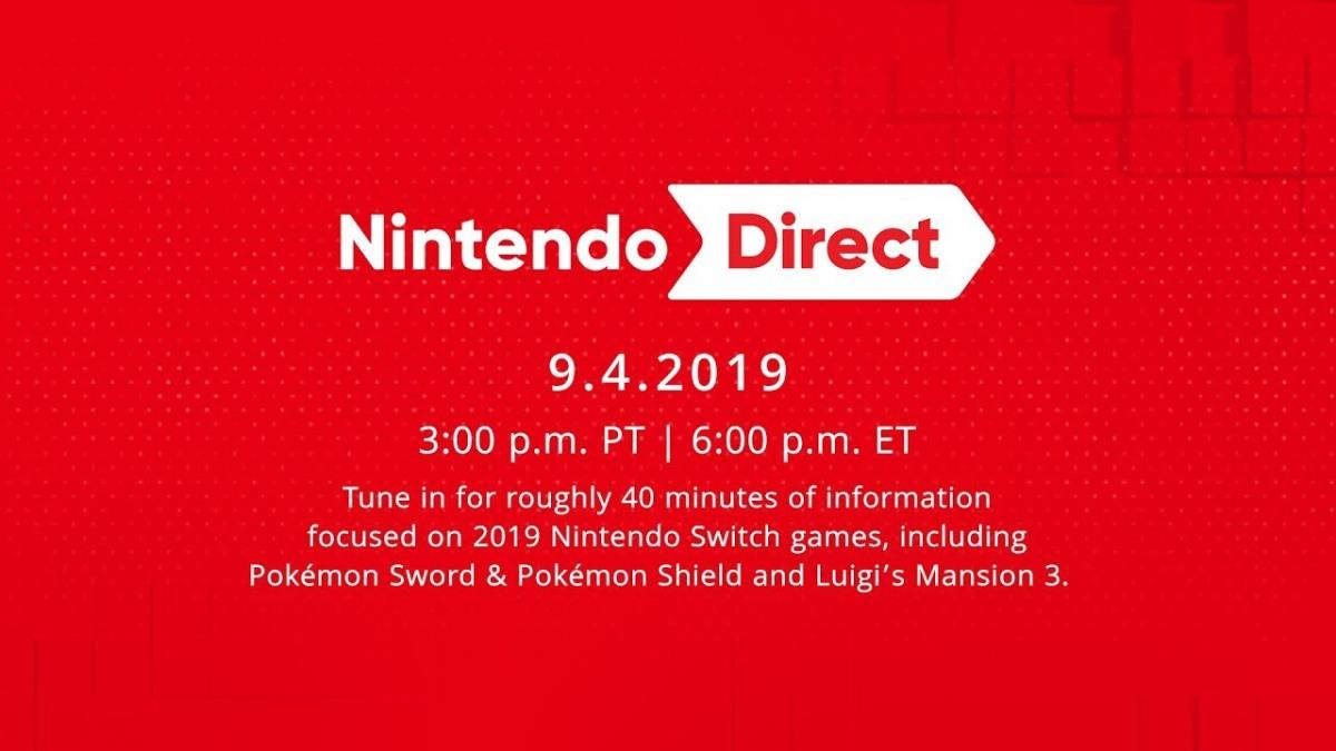 Mañana 4 de septiembre tendremos un nuevo NintendoDirect