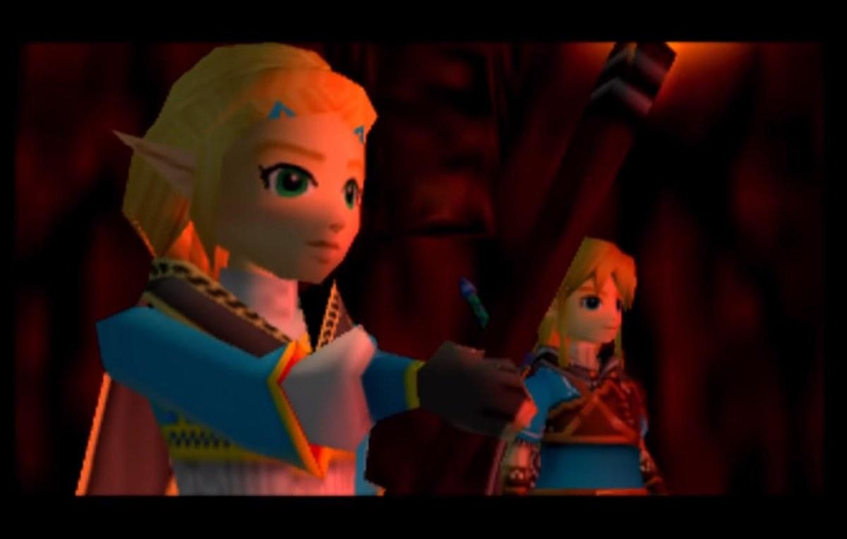 Convierten la secuela de Breath of the Wild en un juego de Nintendo64