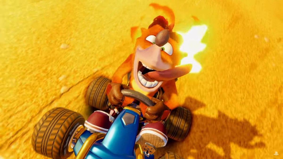 Crash Racing Team Nitro-Fueled se presenta en los Game Awards2018