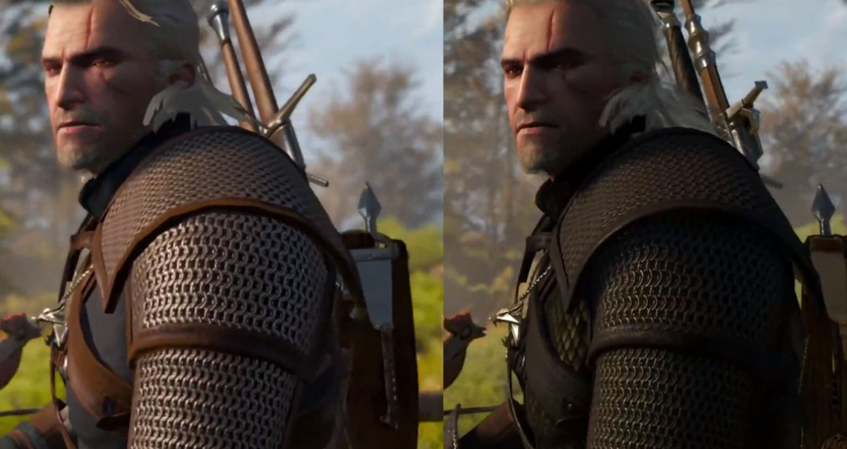 The Witcher 3: Wild Hunt Switch vs Playstation 4 comparacióngráfica