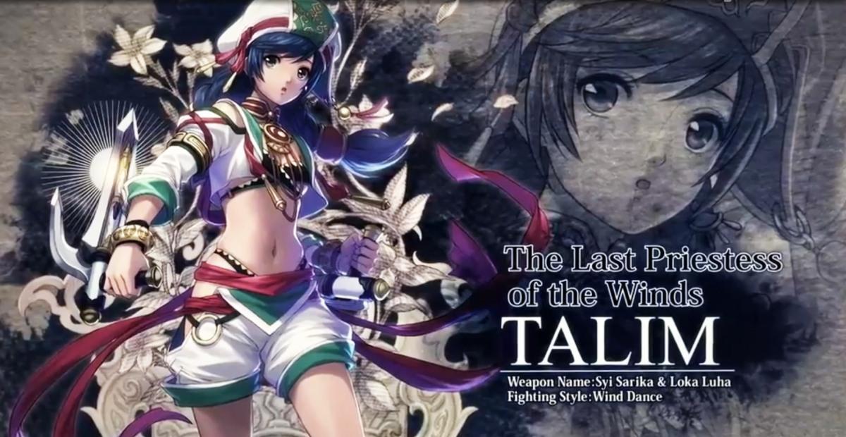 -Talim-  se suma a los peleadores de Soul CaliburVI