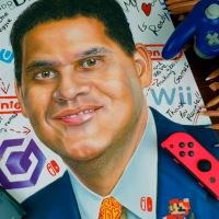 Hacen un fanart de Reggie Fils-Aime como tributo por su salida de Nintendo