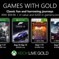 Xbox One Games With Gold Agosto 2019