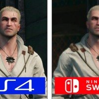 The Witcher 3 Nintendo Switch vs PS4