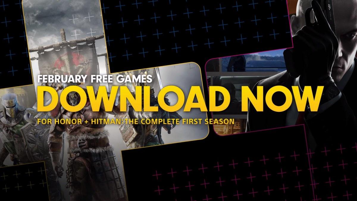 For Honor y Hitman en los juegos gratis de Playstation Plus defebrero