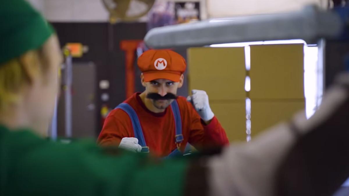 Recrean Super Smash Bros en la vidareal