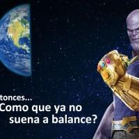 Esto es aún peor, al final Thanos termina haciendo mas daño que bien.