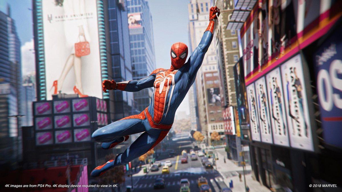 Evolución de Spider-Man y su balanceo por laciudad.