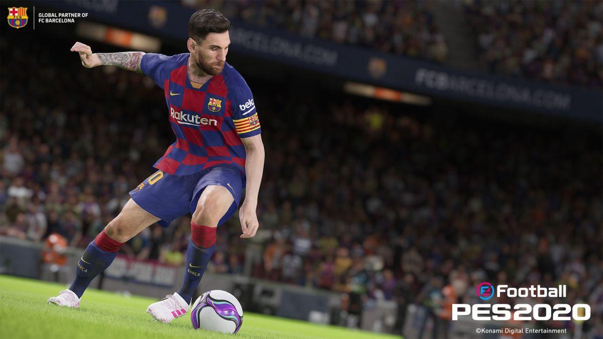 eFootball PES 2020 anuncia demo para fin demes