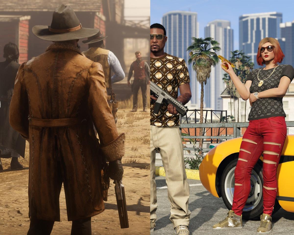 Red Dead Redemption 2 ya vendió 25 millones de copias mientras que GTA V  sobrepasa las 110millones