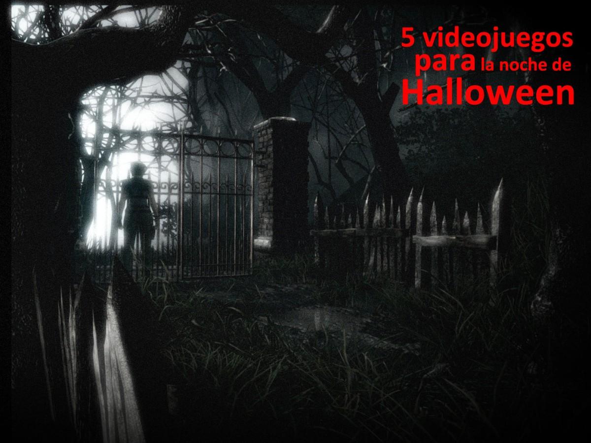 5 juegos de terror para disfrutar enHalloween