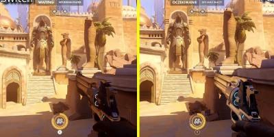 Overwatch Switch vs PC