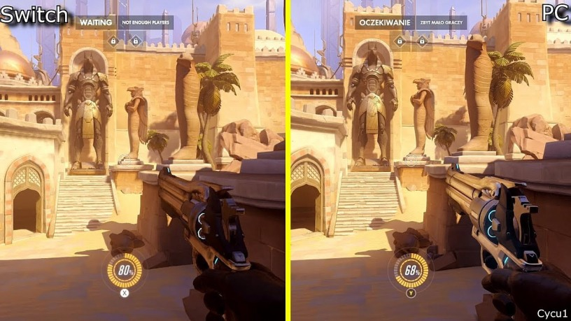 Overwatch Switch vs PC