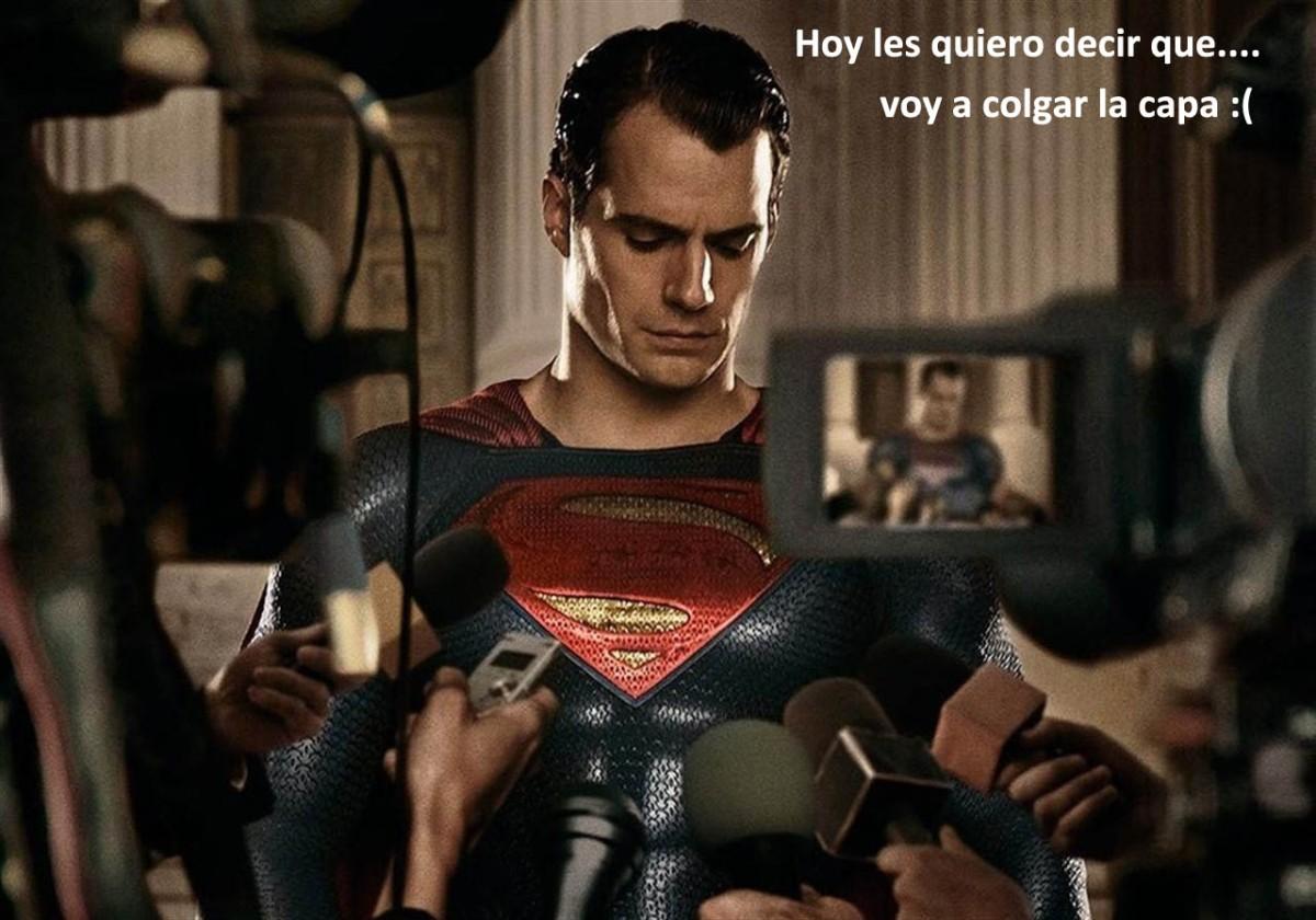 Henry Cavill cuelga la capa de Superman – Actualizado – Siempre si se queda comoSuperman
