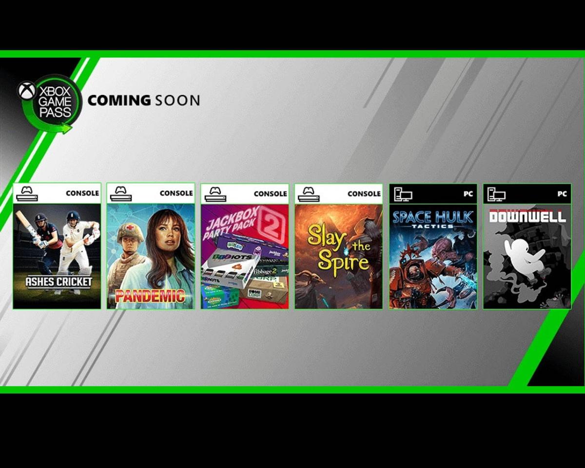Juegos de Xbox Game Pass y PC Game Pass Agosto2019