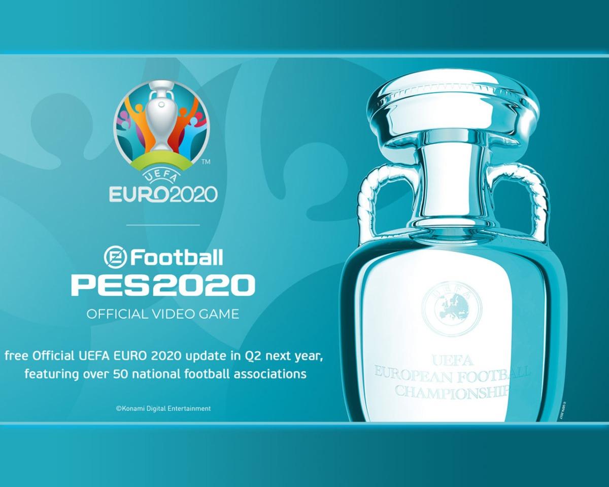 eFootball PES2020 se hace en exclusiva de la UEFA Euro2020