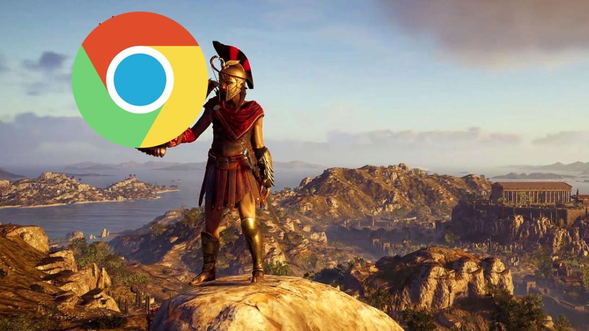 28 minutos de Assassin's Creed Odyssey desde GoogleChrome