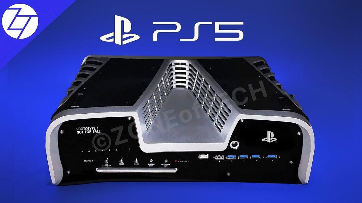 Se filtra la foto de kit de desarrollo de Playstation5