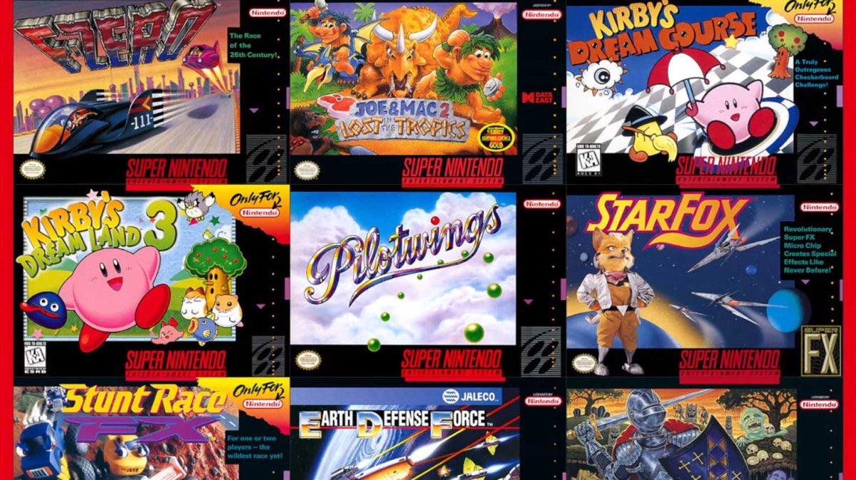 Esta es la lista completa de los juegos de Snes que llegarán Nintendo SwitchOnline