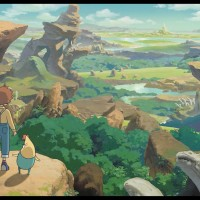 Ni No Kuni: Wrath of the White Witch comparación gráfica en todas sus versiones
