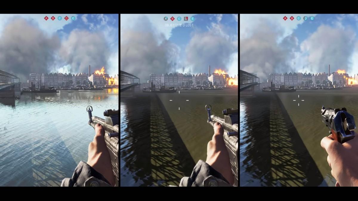 Battlefield V PC vs PS4 vs XboxOne