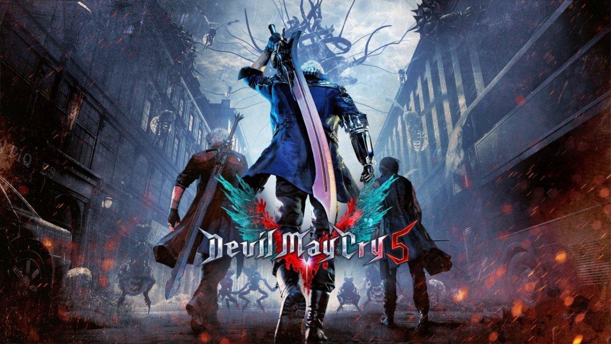 Así se ve Devil May Cry 5 en una Playstation 4regular