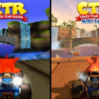 Crash Team Racing Nitro Fueled Original vs Remake