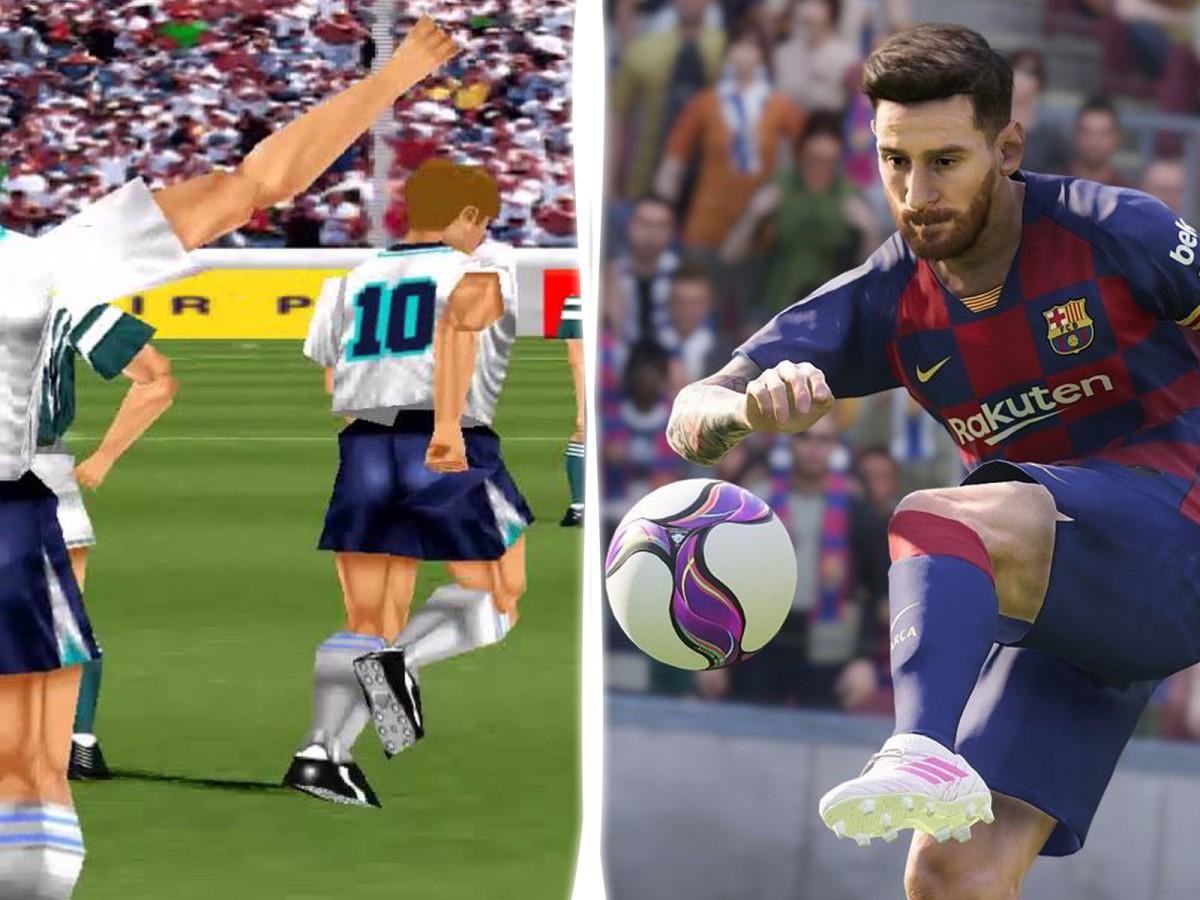 Así ha sido la evolución de PES  Pro Evolution Soccer desde 1994 hasta el2020
