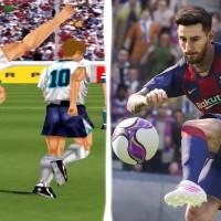 Así ha sido la evolución de PES  Pro Evolution Soccer desde 1994 hasta el 2020