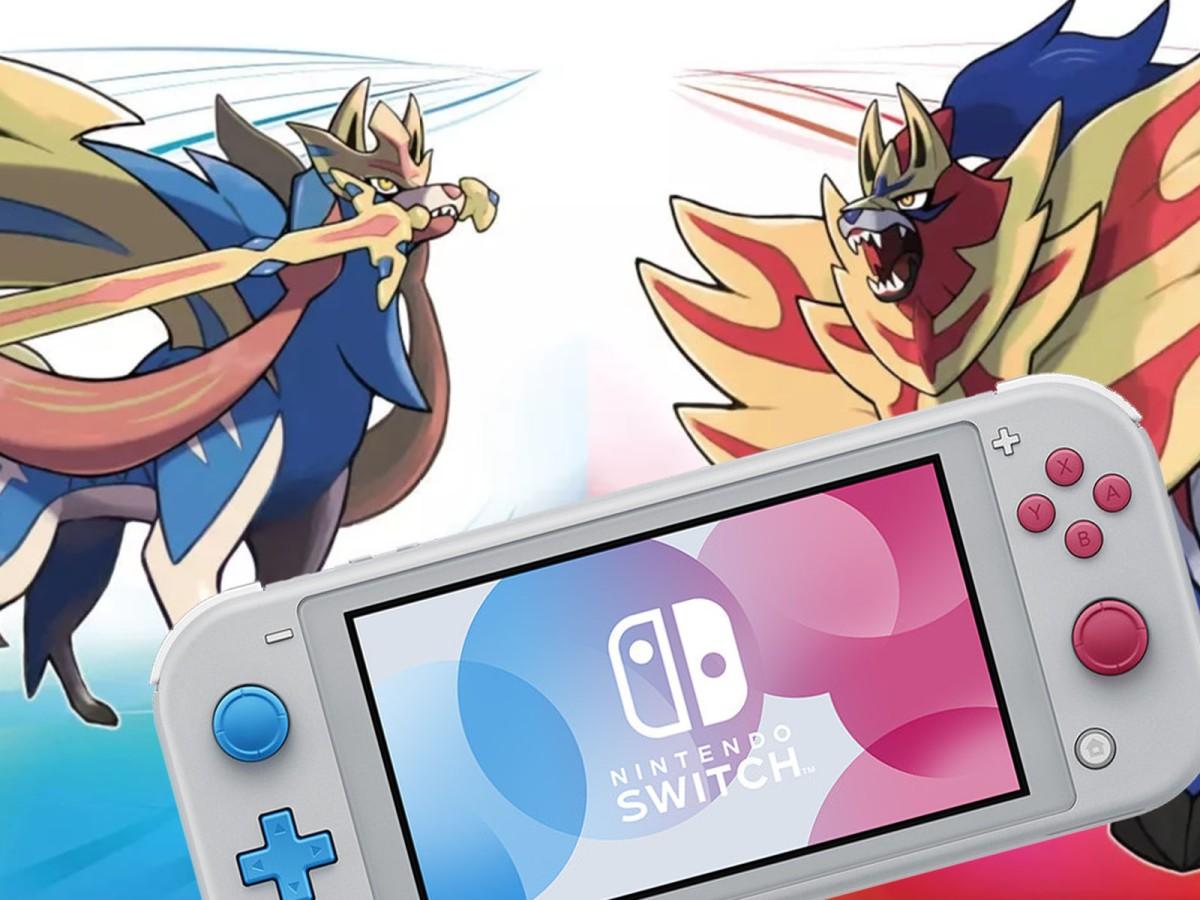 Así es la Nintendo Switch Lite inspirada en Pokémon Sword &Shield