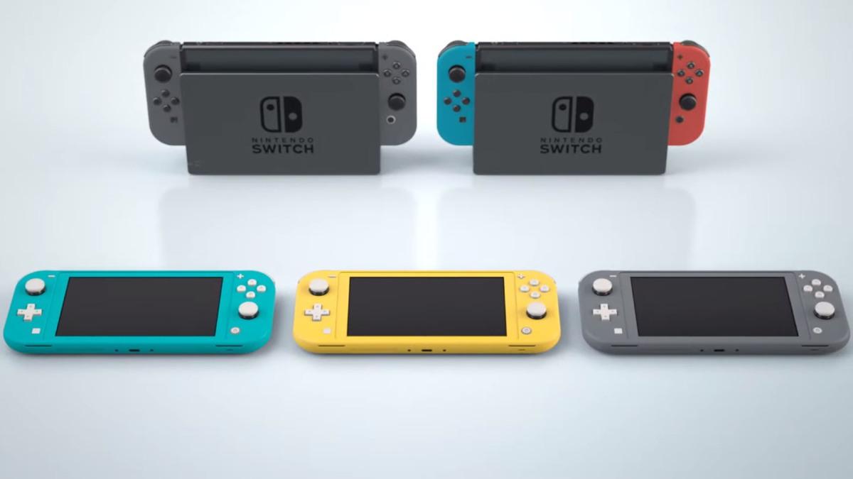Nintendo Switch Lite es el único modelo confirmado para esteaño