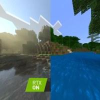 Así se ve Minecraft con y sin la tecnología RTX