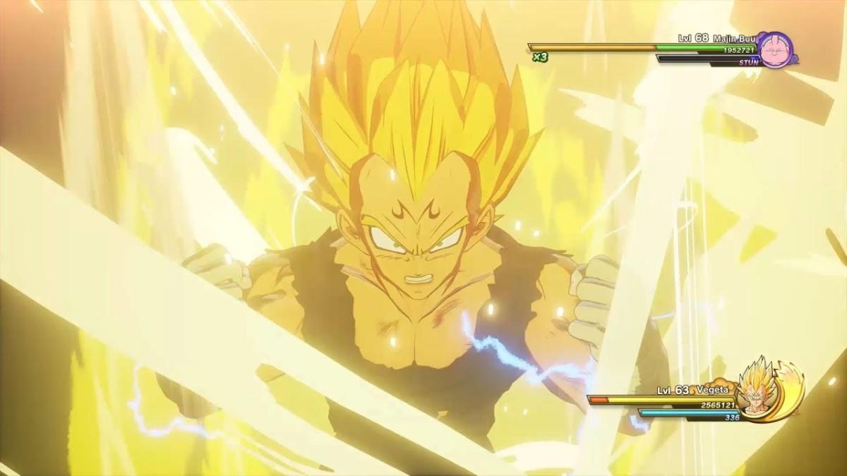 Dragon Ball Z: Kakarot presenta a MajinVegeta