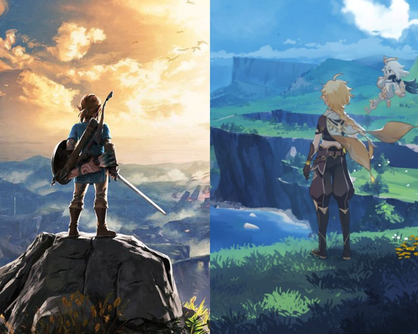 Genshin Impact vs Breath of the Wild