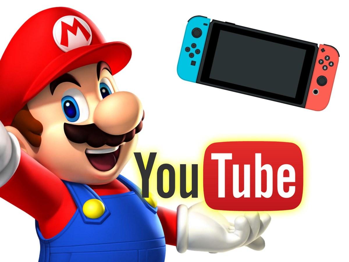 Youtube podría llegar a Nintendo Switch esta semana(Rumor)