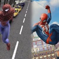 Evolucion de los juegos de Spiderman 2000-2018