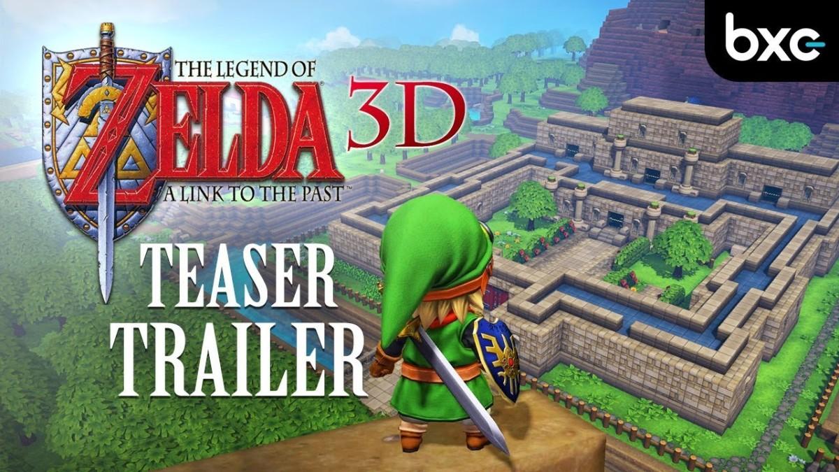 150 horas para recrear The Legend of Zelda: A Link to the Past en Dragon Quest Builders2