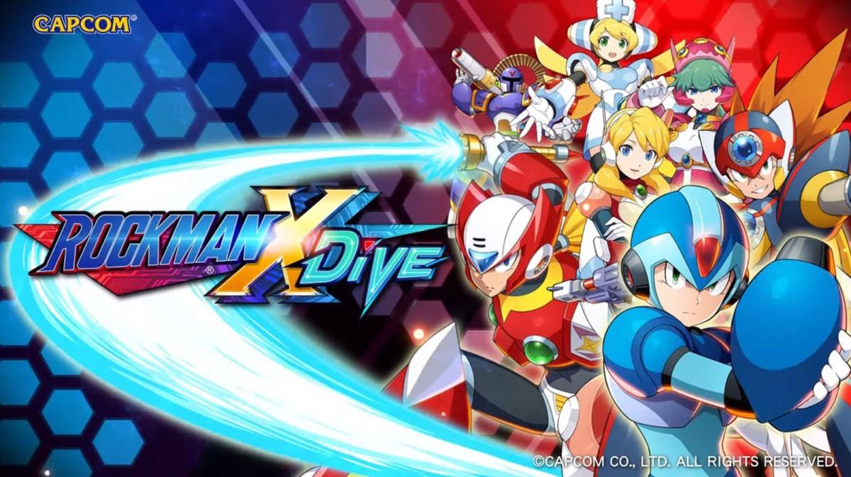 Megaman X Dive se anuncia paraSmartphones