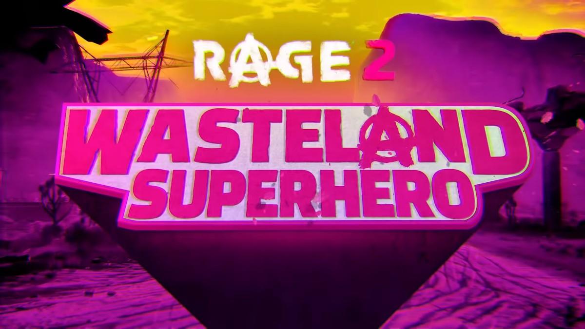 Rage 2, nos muestra al Super Héroe delYermo
