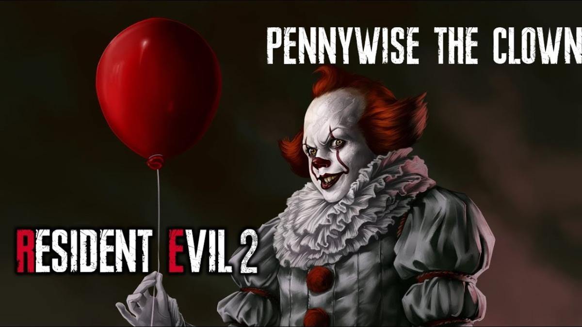 Pennywise llega a Resident Evil 2 Remake para atormentar a los jugador aúnmás.