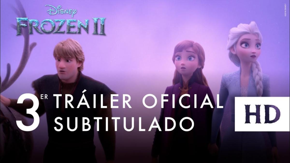 Nuevo trailer de Frozen 2subtitulado