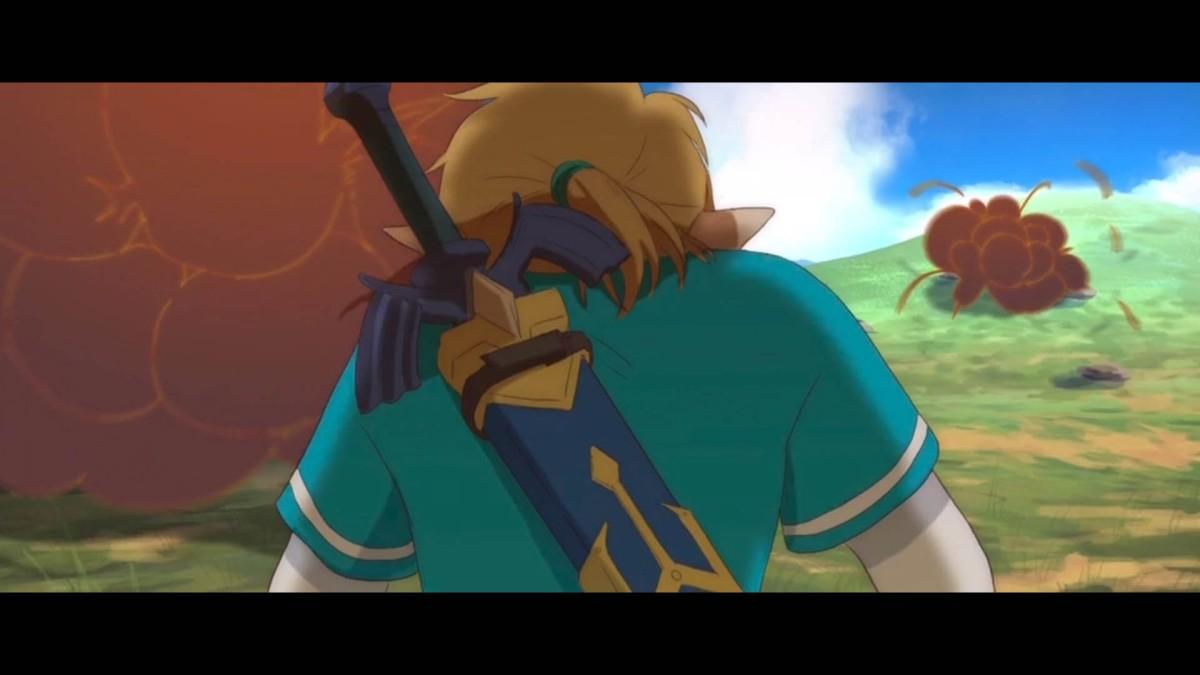 Hacen una animación fan de The Legend of Zelda: Breath of theWild